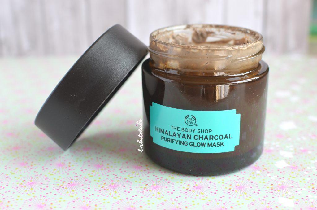 The Body Shop masque purifiant charbon bois Himalaya Charcoal glow purifying
