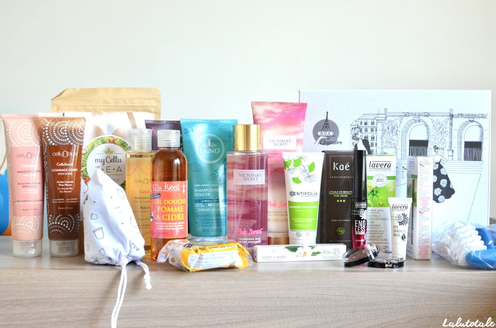 haul boite lettres produits cosmétiques juin été beauté