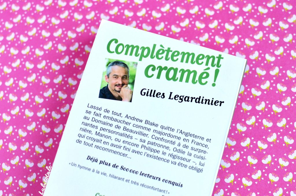 Legardinier roman humour Complètement cramé !