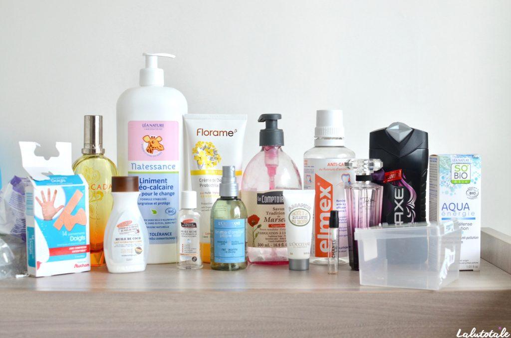 disparitions produits beauté cosmétos août 2017