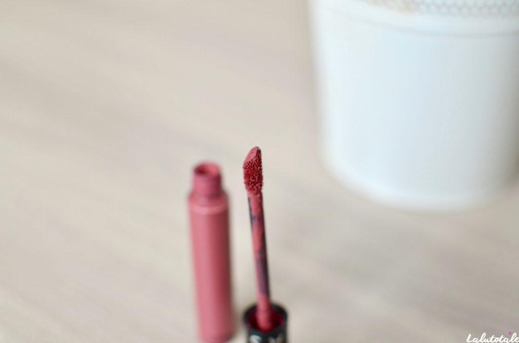 Séphora marvellous mauve rouge velouté sans transfert cream lip stain