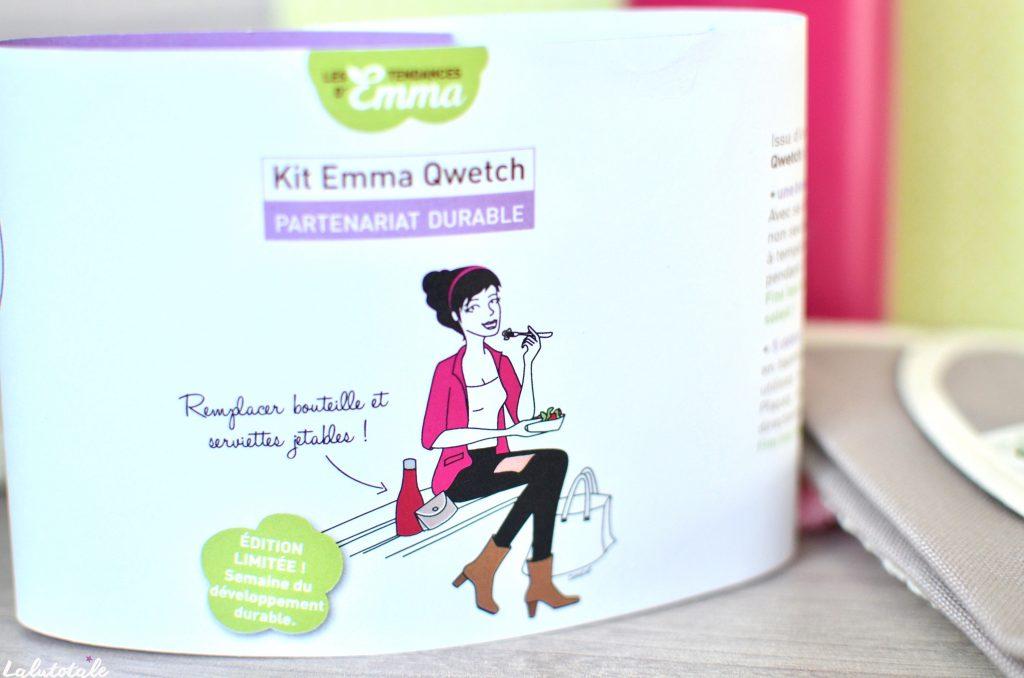 Les Tendances d'Emma kit Emma Qwetch écologique durable