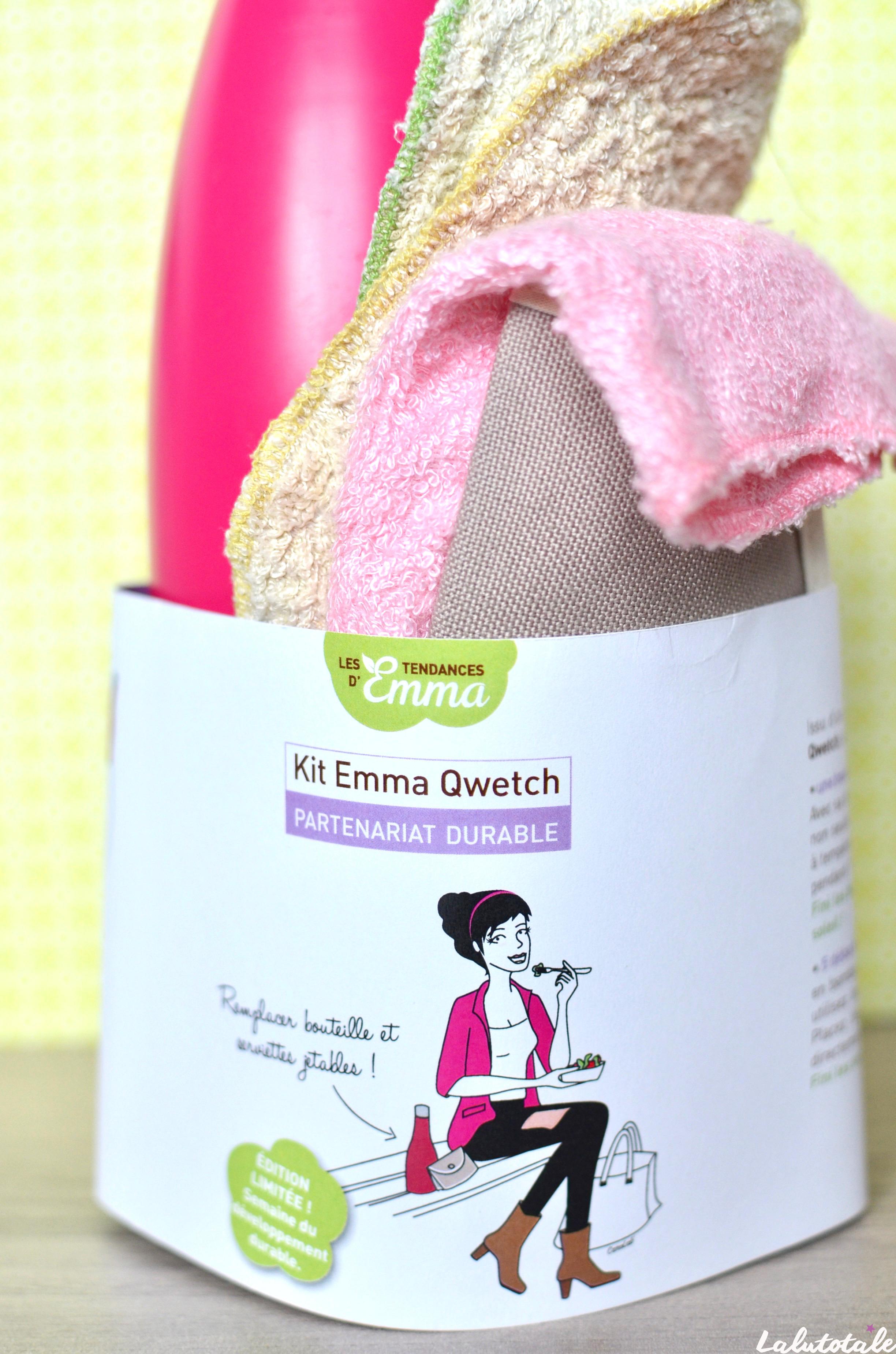 ( Les Tendances d'Emma ) Zéro déchet en vadrouille grâce à mon kit Emma Qwetch !