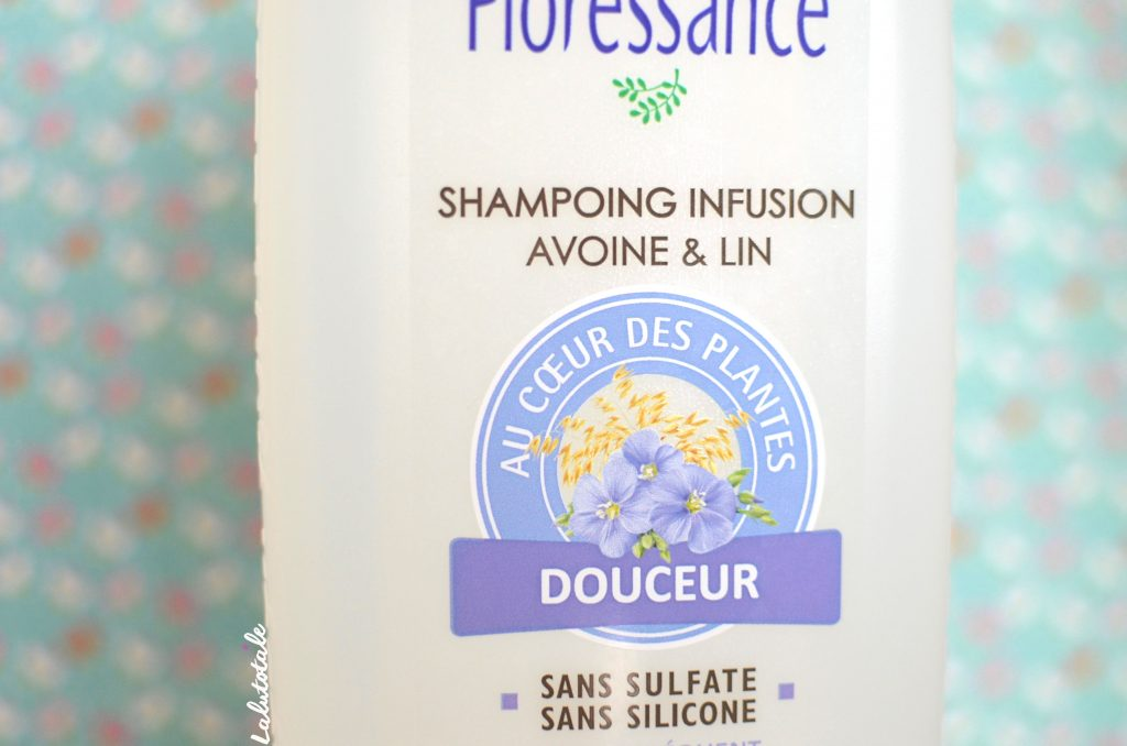 Floressance shampooing infusion avoine lin silicone sulfate