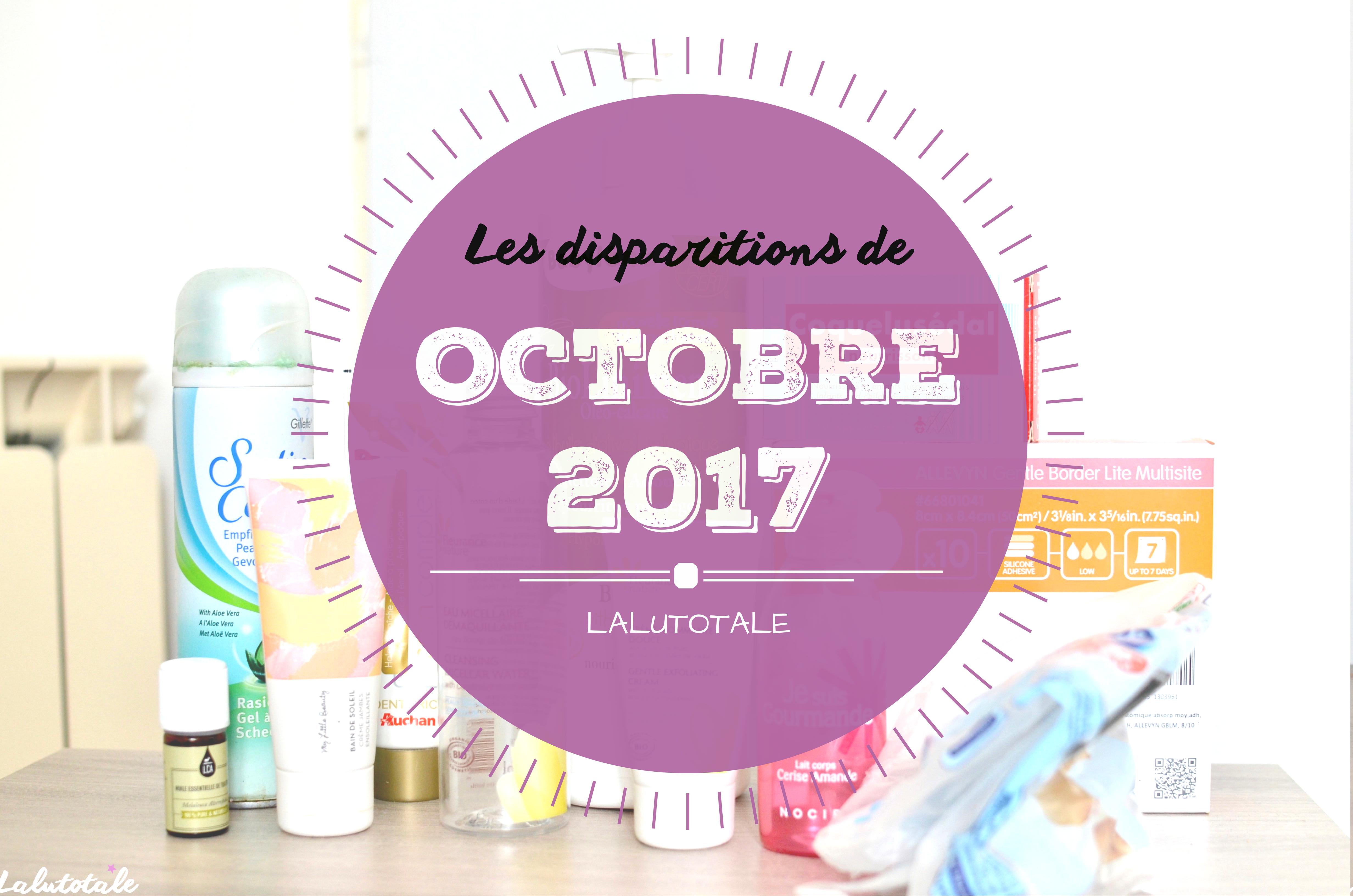 ✞ Les disparitions d' Octobre 2017 ✞