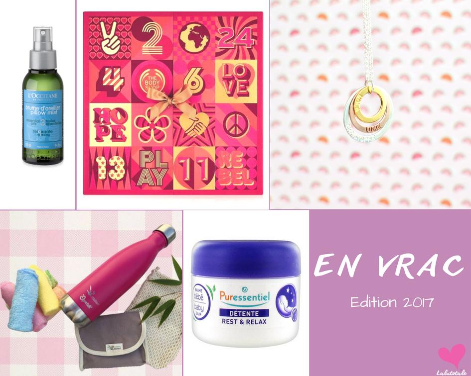 🔆 2017 – Le Bilan 🔆 Mes produits favoris de l'année !