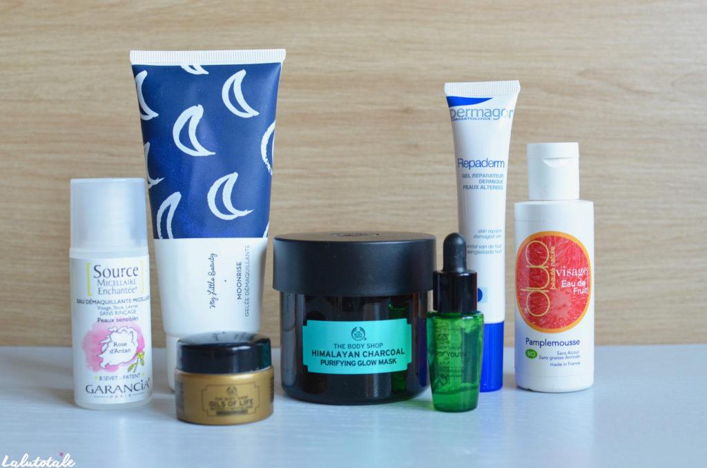 disparitions produits beauté cosmétos décembre 2017