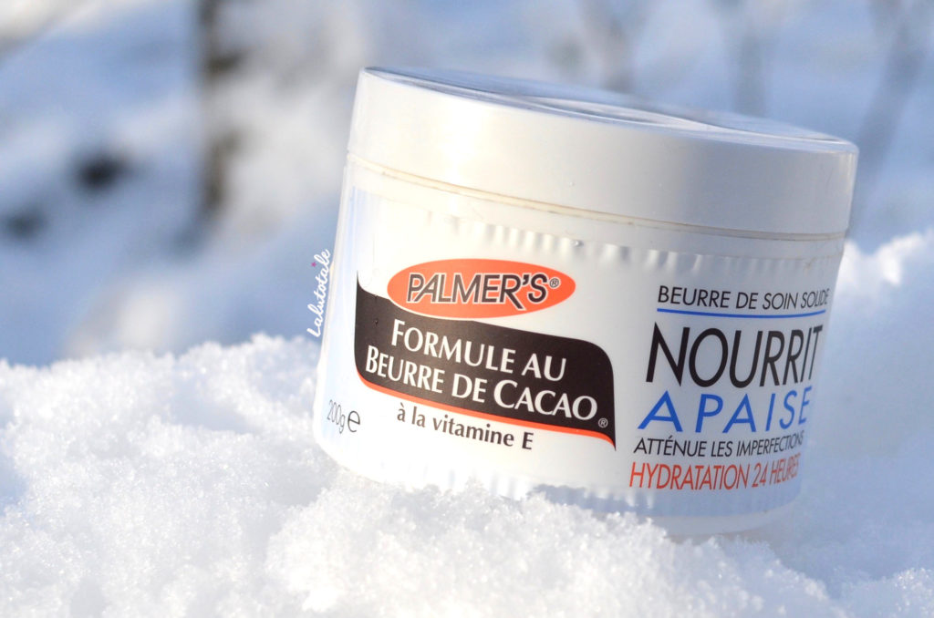 beurre cacao solide Palmer's hydratant nourrissant