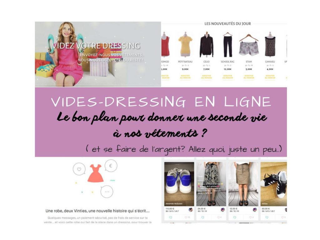 vide-dressing en ligne Vinted Once again vêtements fringues occasion mode