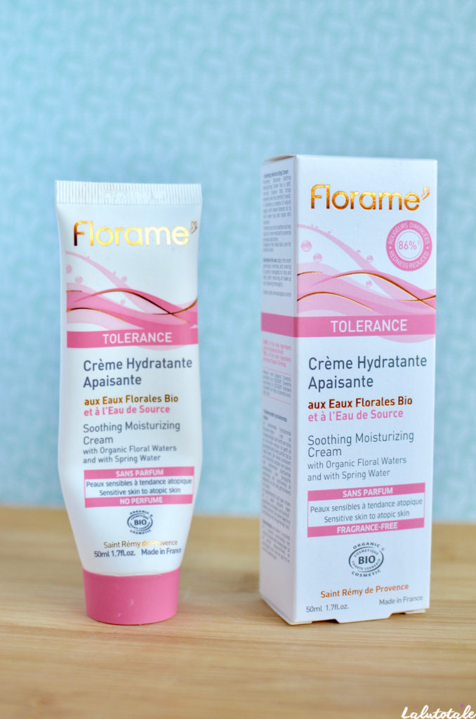 Florame crème hydratante visage eaux florales bio
