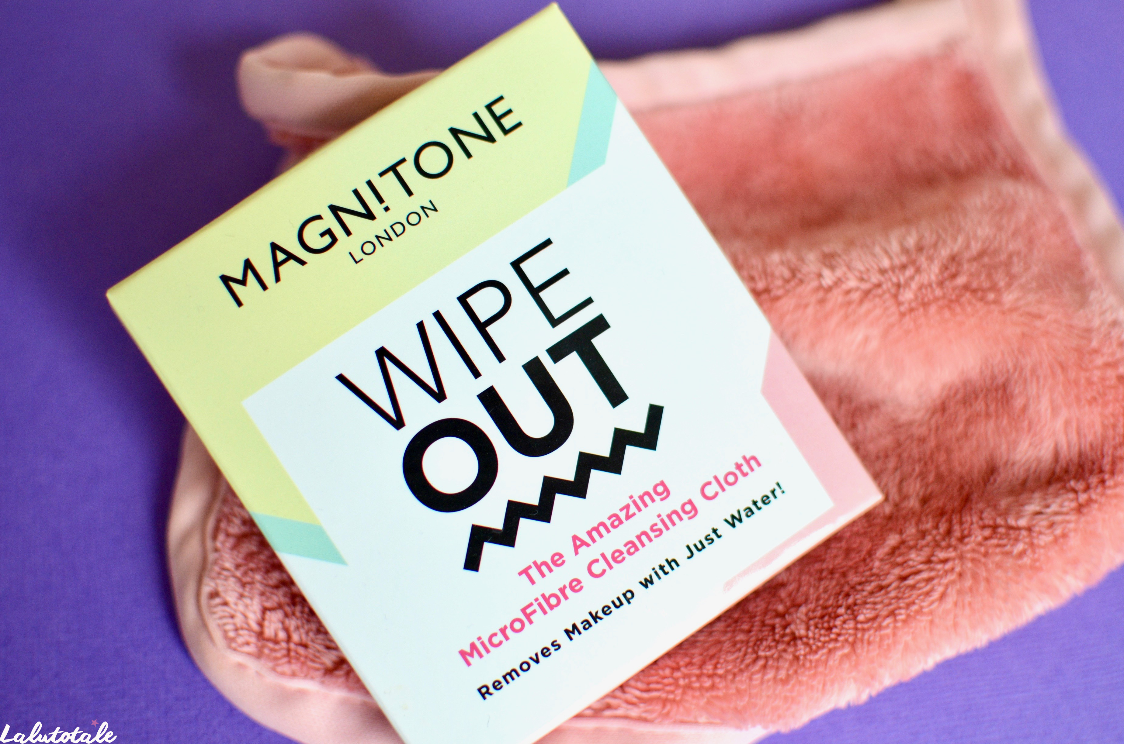 ( MAGNITONE ) La serviette microfibre démaquillante Wipe Out : une vraie révolution ?