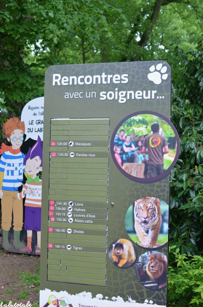 Zoosafari Thoiry Zoo parc Yvelines château