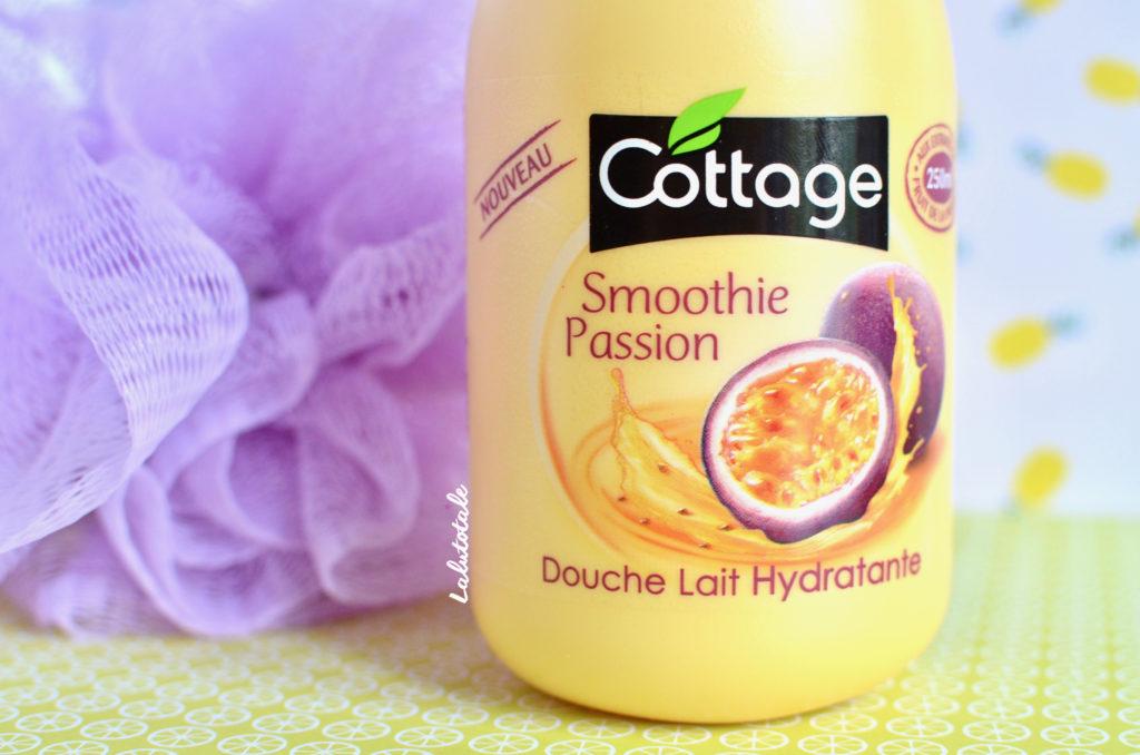 cottage douche lait smoothie passion nouveau