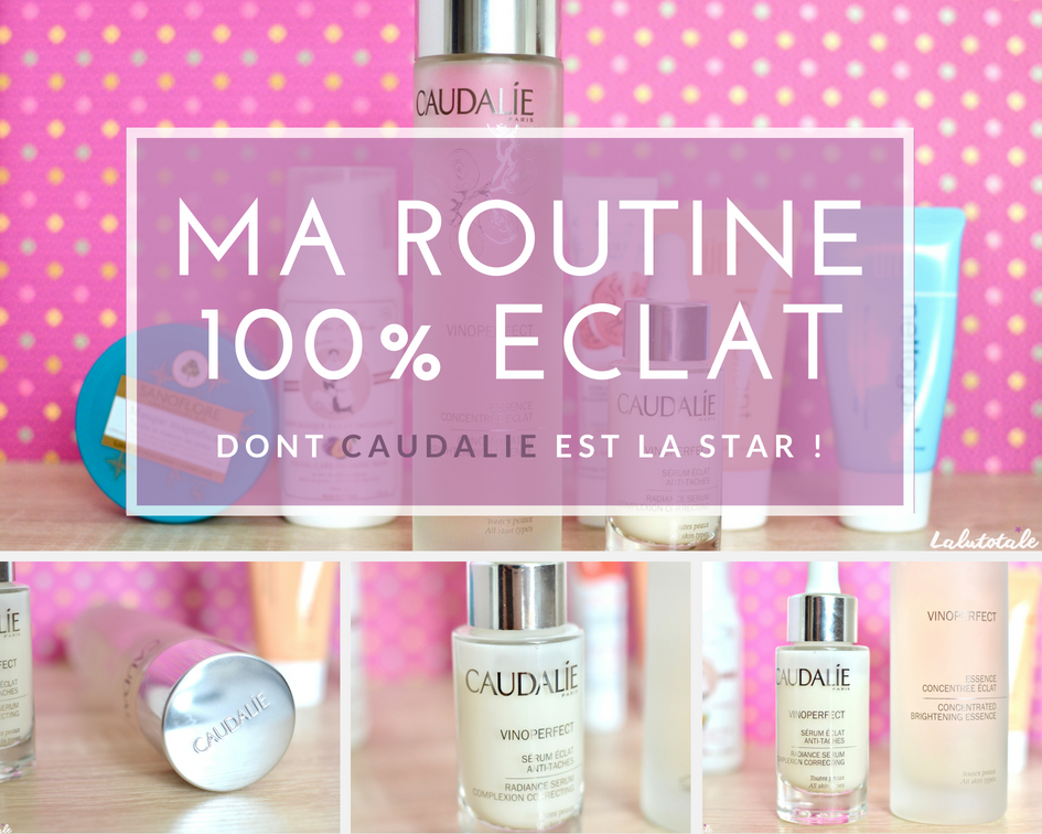 caudalie vinoperfect éclat beauté visage essence sérum routine rituel
