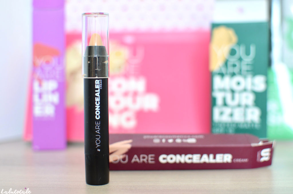 you are cosmetics maquillage make-up vegan review beauté sourcils