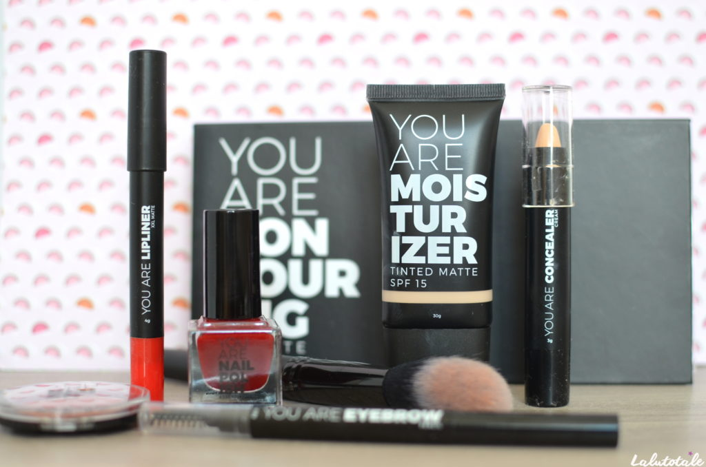 you are cosmetics maquillage make-up vegan review beauté