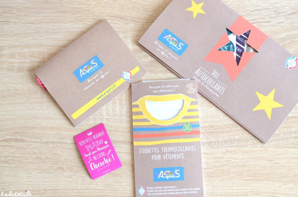 a-qui-s pack maternelle étiquettes rentrée école vêtements objets