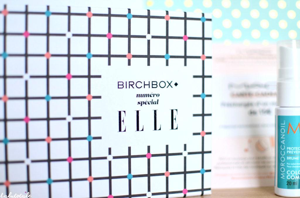 Birchbox box beauté Elle MAC Schmidt's unboxing