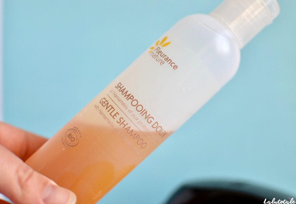 Fleurance Nature shampooing doux bio sans sulfates hammamélis