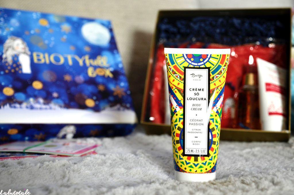 biotyfull box Noël édition limitée exclusive bio décembre festive