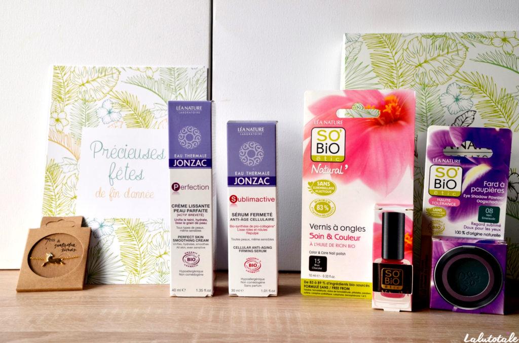 haul boite lettres produits cosmétiques beauté décembre