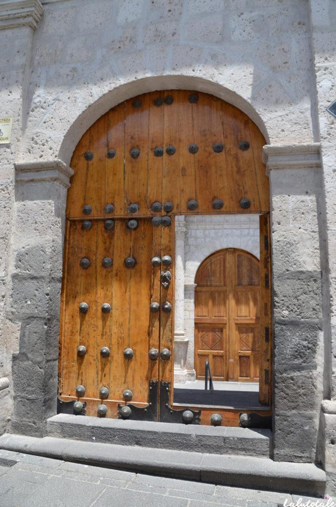 Pérou Arequipa tourisme circuit laine alpaga santa catalina