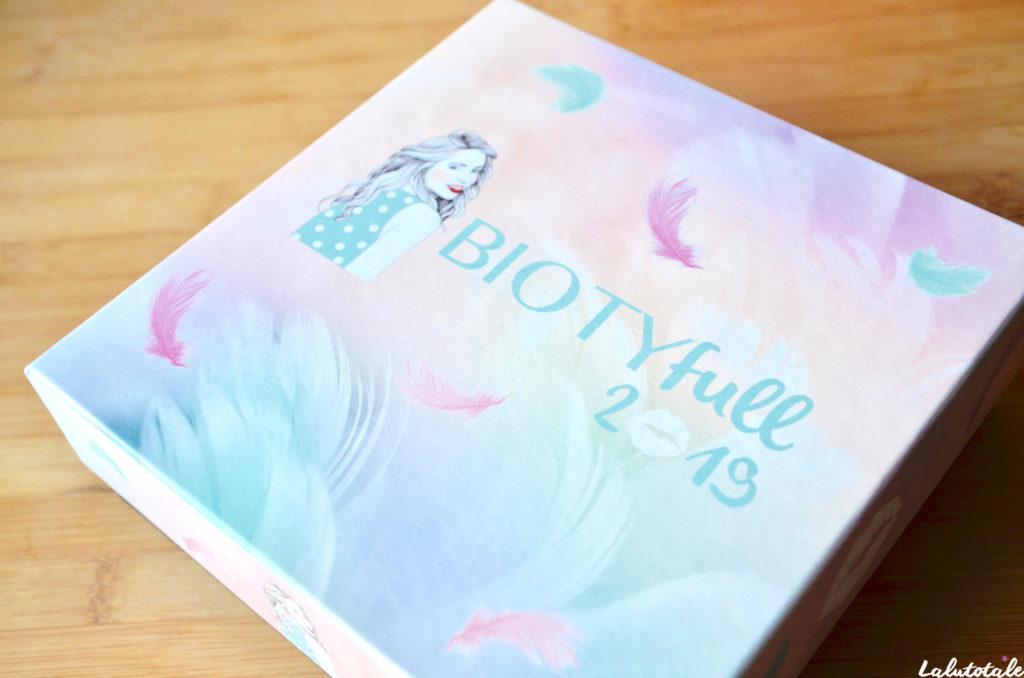 biotyfull box enveloppante cocooning box beauté janvier 2019