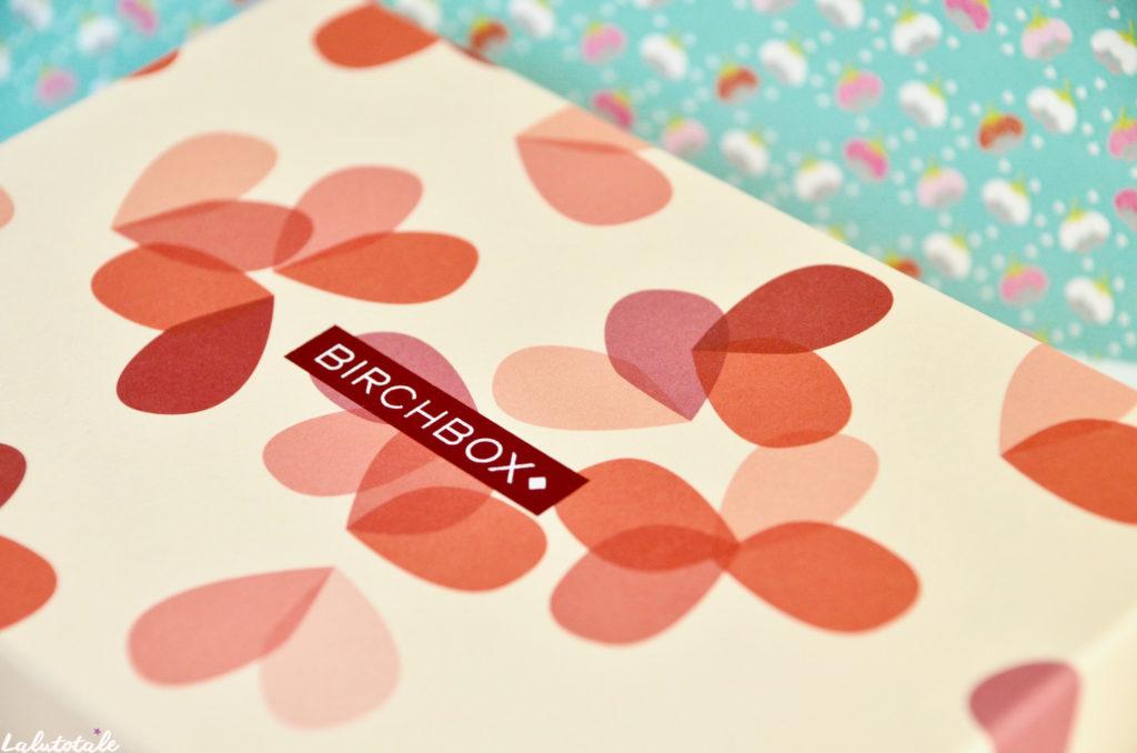 birchbox février Saint Valentin amour box beauté unboxing