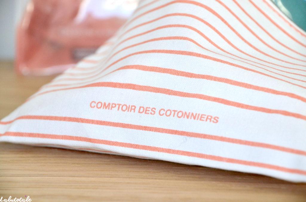 Birchbox unboxing comptoir des cotonniers Garancia Aïny