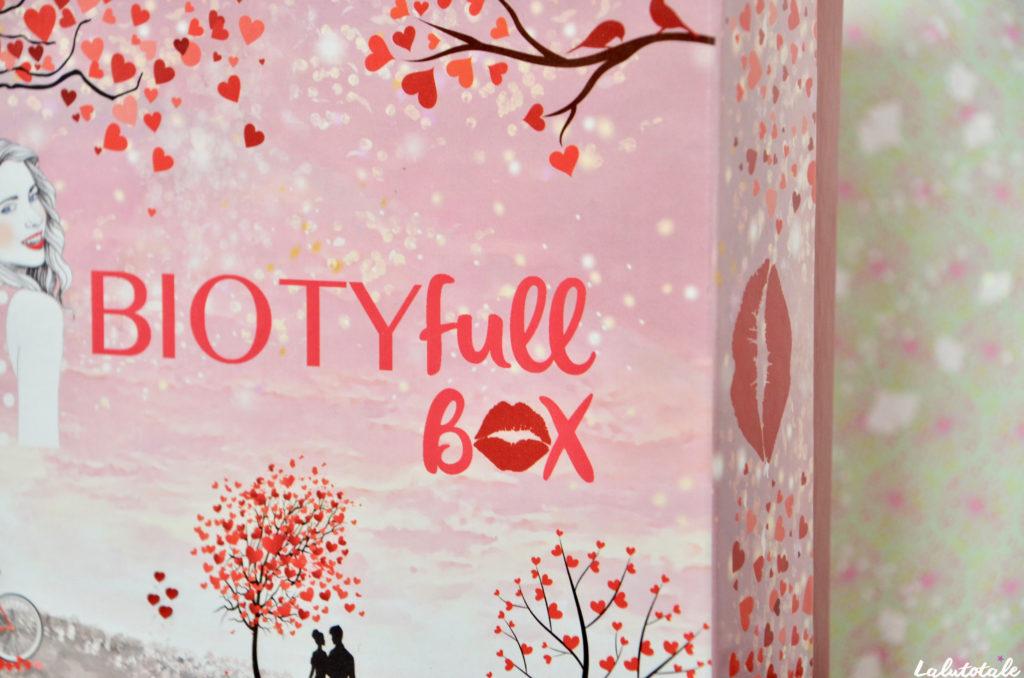 biotyfull box février amour unboxing beauté