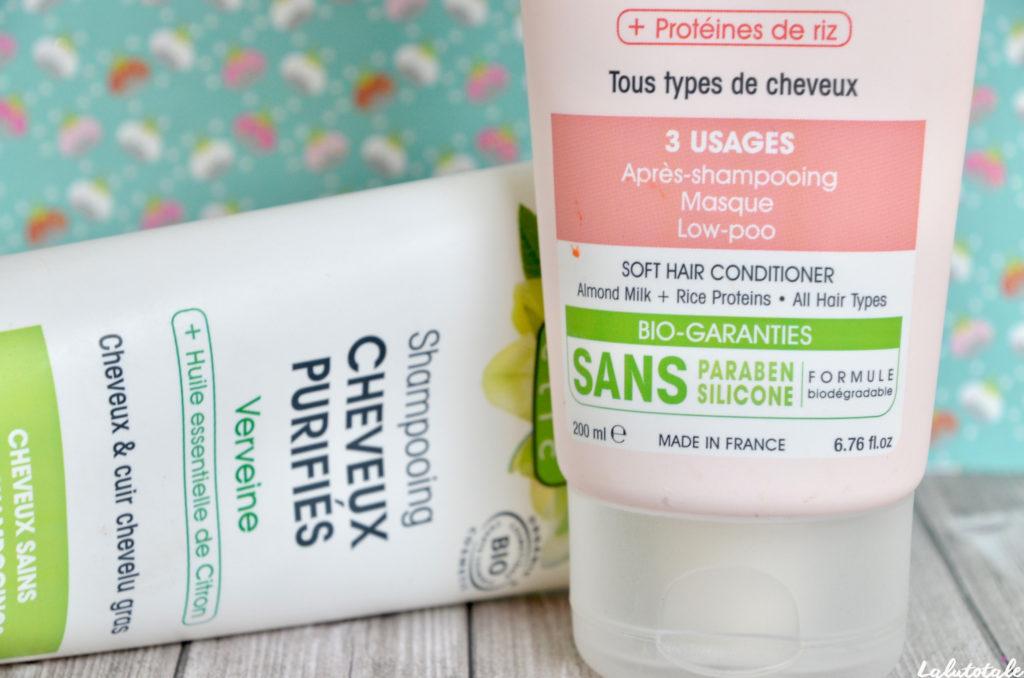 so'bio etic shampooing soin verveine amande sans sulfates bio capillaire cheveux