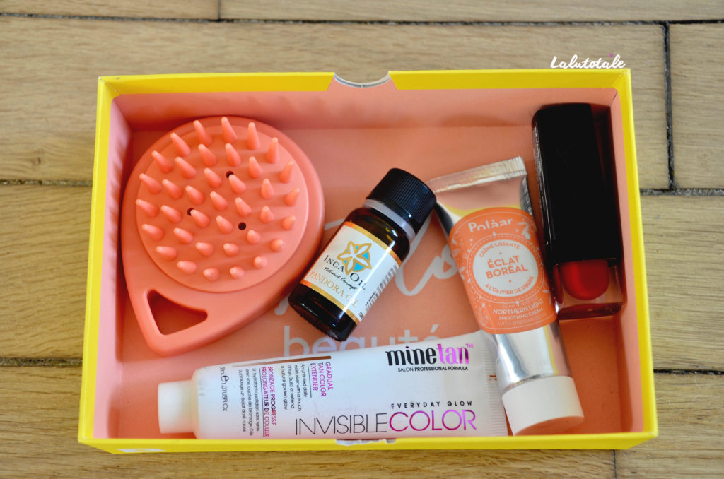 birchbox avril pop couleurs unboxing box beauté
