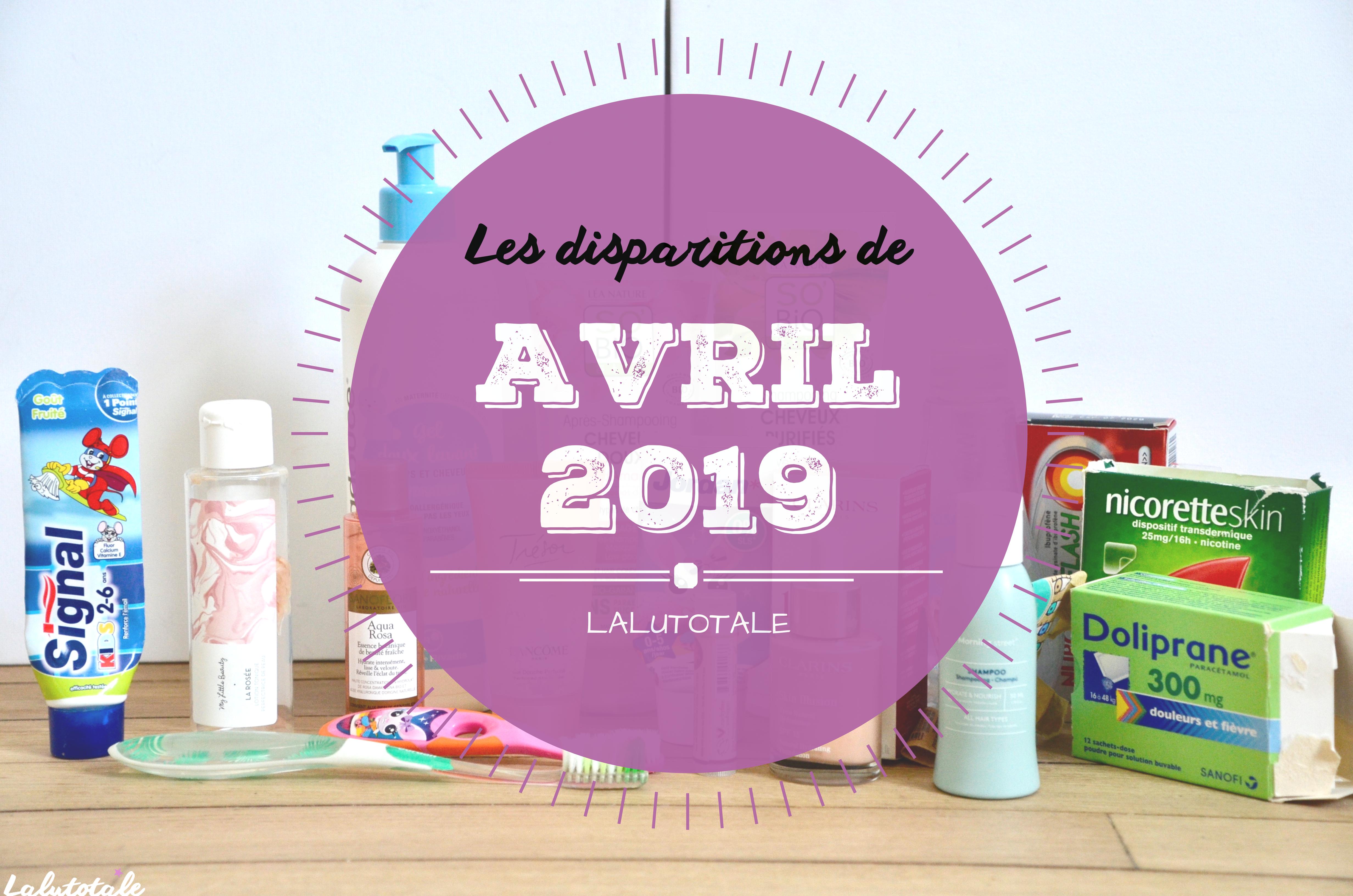 ✞ Les disparitions d'Avril 2019 ✞