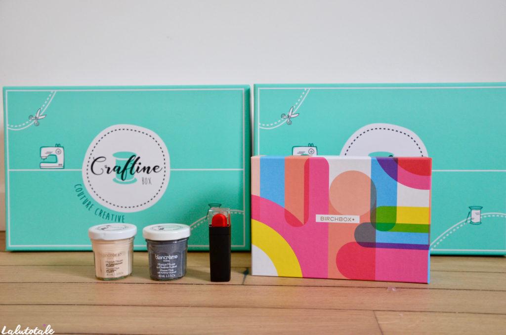 haul boite lettres produits cosmétiques beauté avril