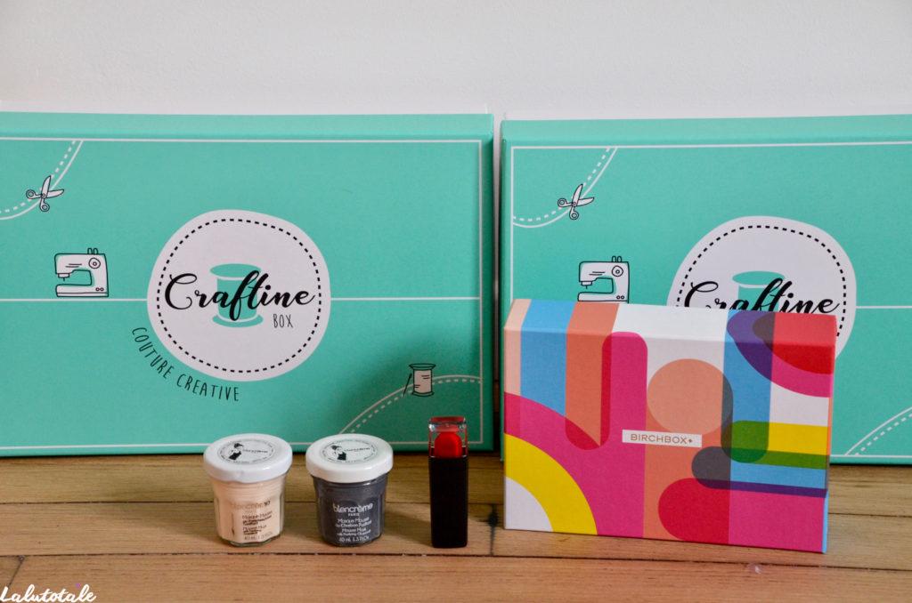 haul boite lettres produits cosmétiques beauté avril craftine