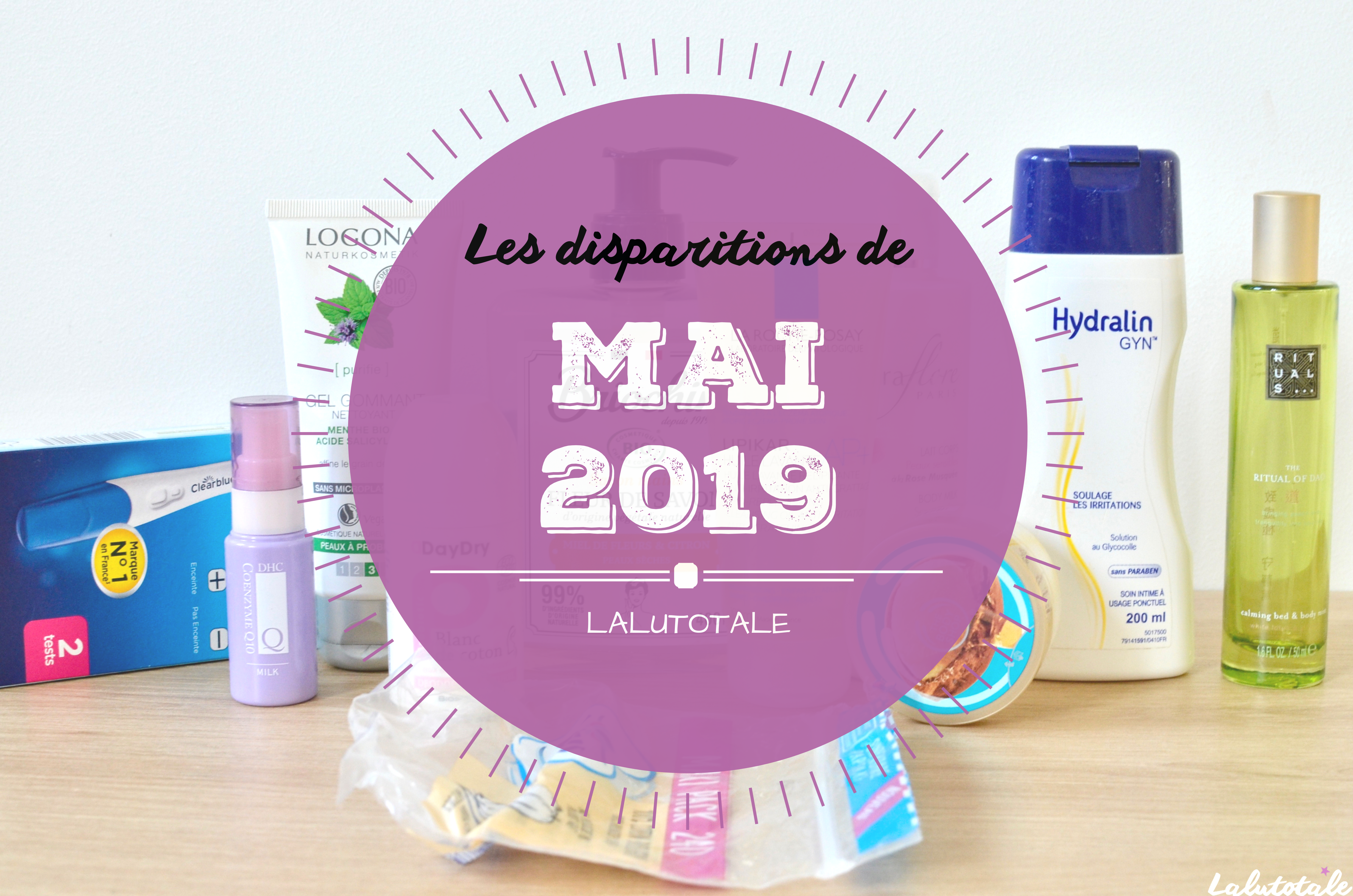 ✞ Les disparitions de Mai 2019 ✞