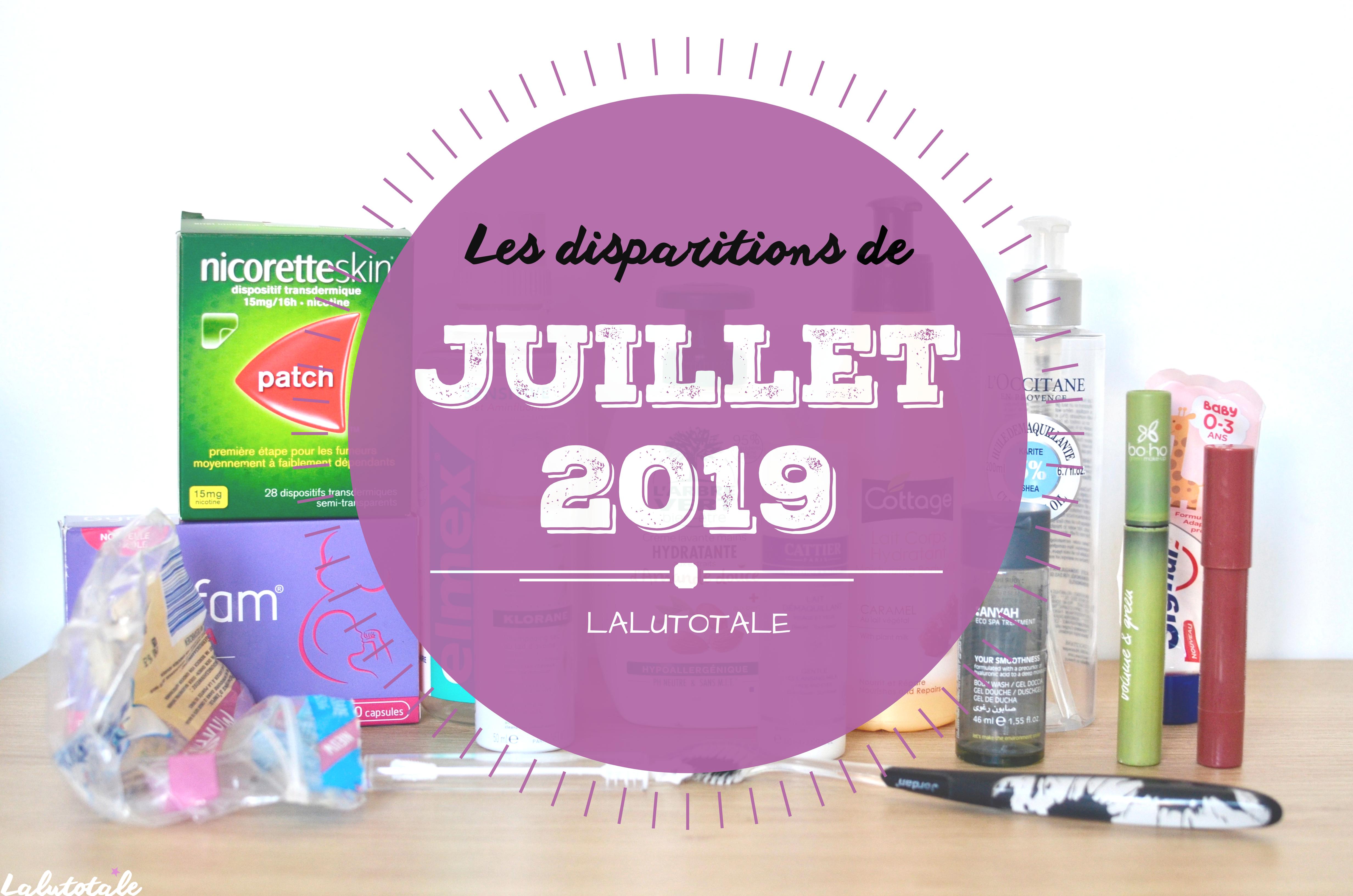 ✞ Les disparitions de Juillet 2019 ✞