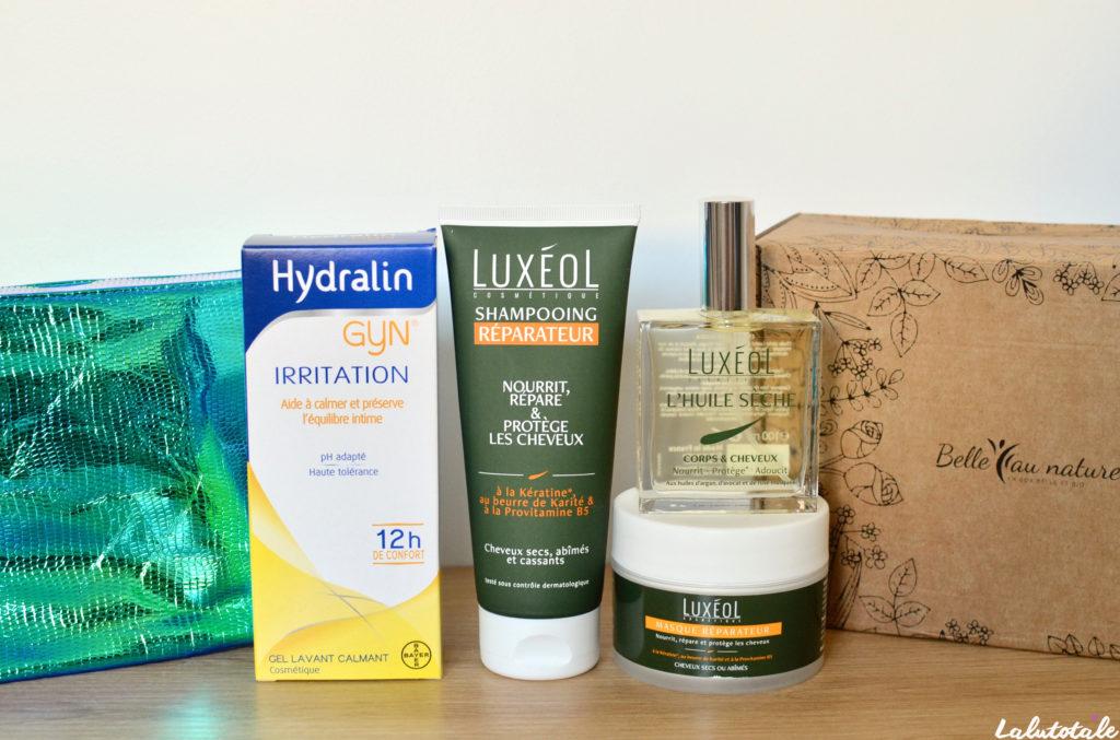 haul mensuel produits cosmétiques beauté juillet