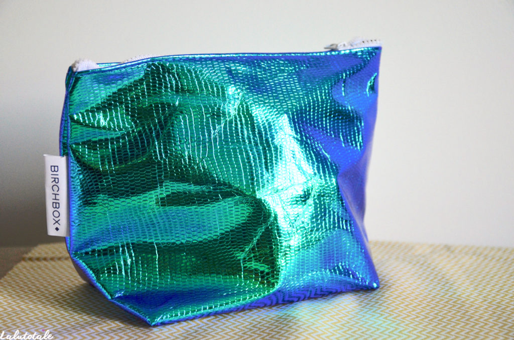 birchbox trousse mermaid vibes été