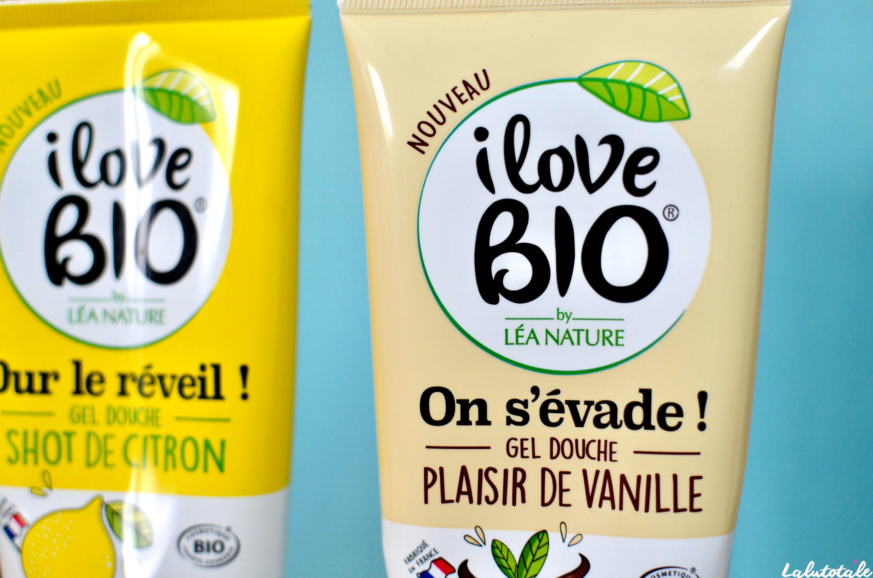 ( I LOVE BIO ) Les nouveaux gels douche vegan et bio sont-ils géniaux ? 🌱