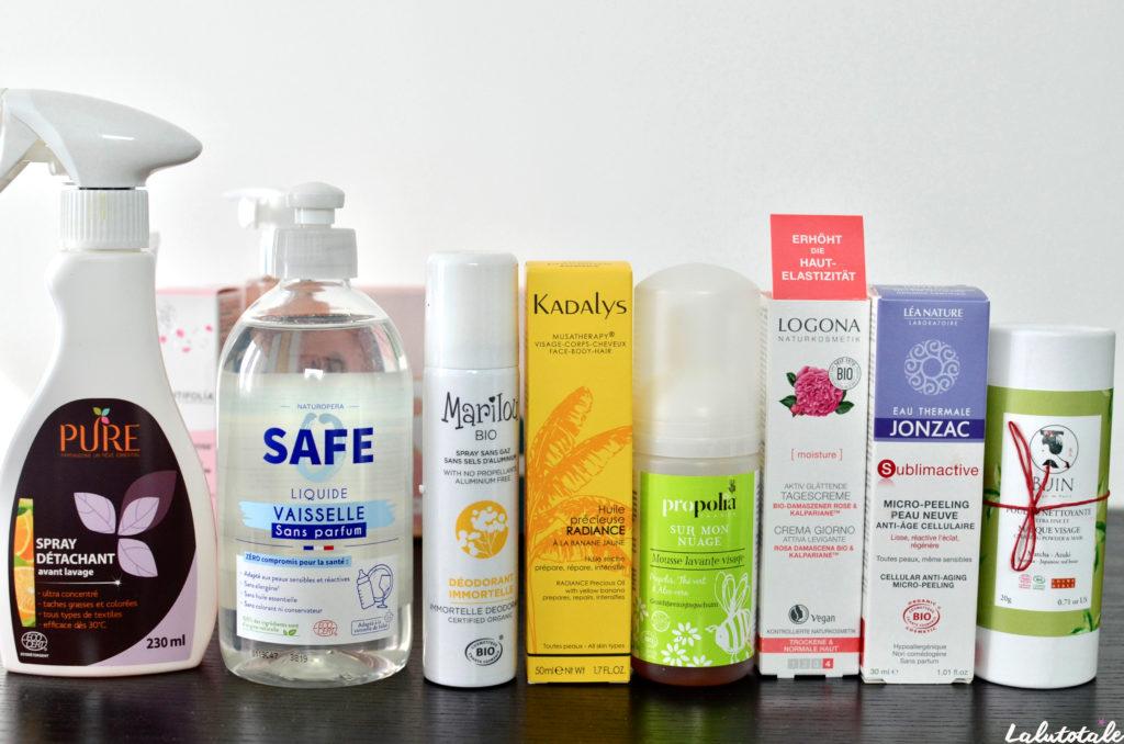 haul Meilleurs Produits Bio 2020 cosmétiques beauté septembre