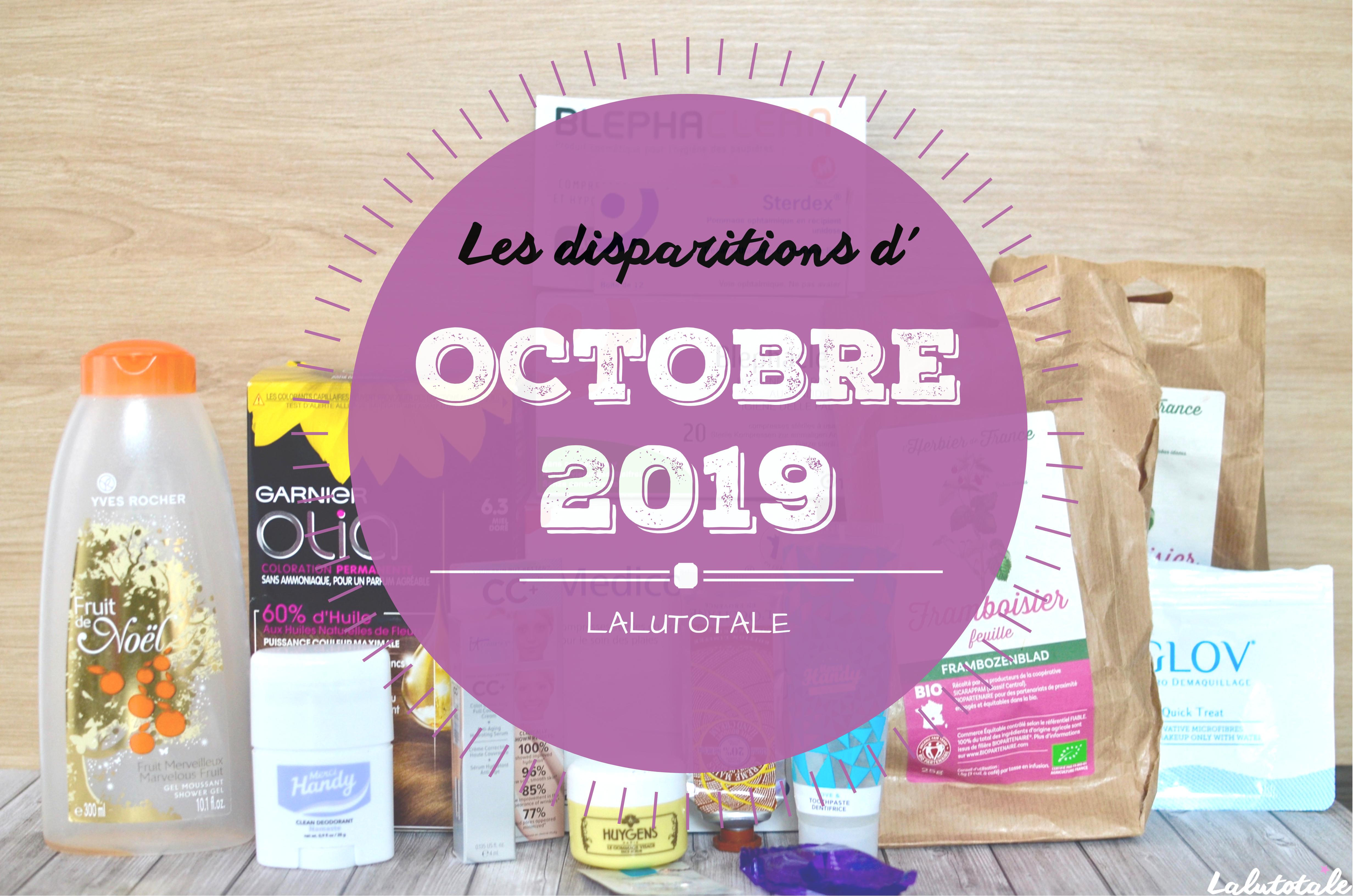 ✞ Les disparitions d' Octobre 2019 ✞