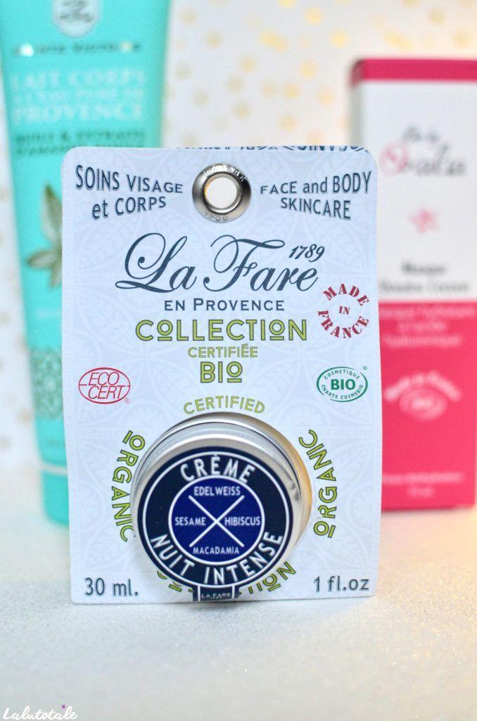 Belle naturel box Féérie Noël crème La Fare en Provence