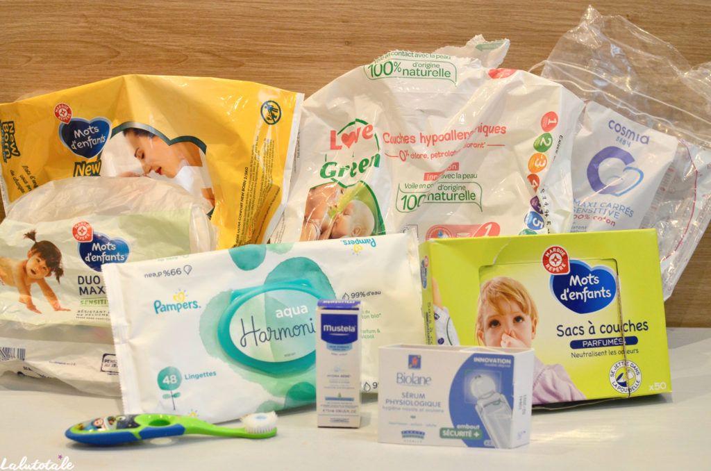 disparitions produits hygiène bébé enfant novembre 2019