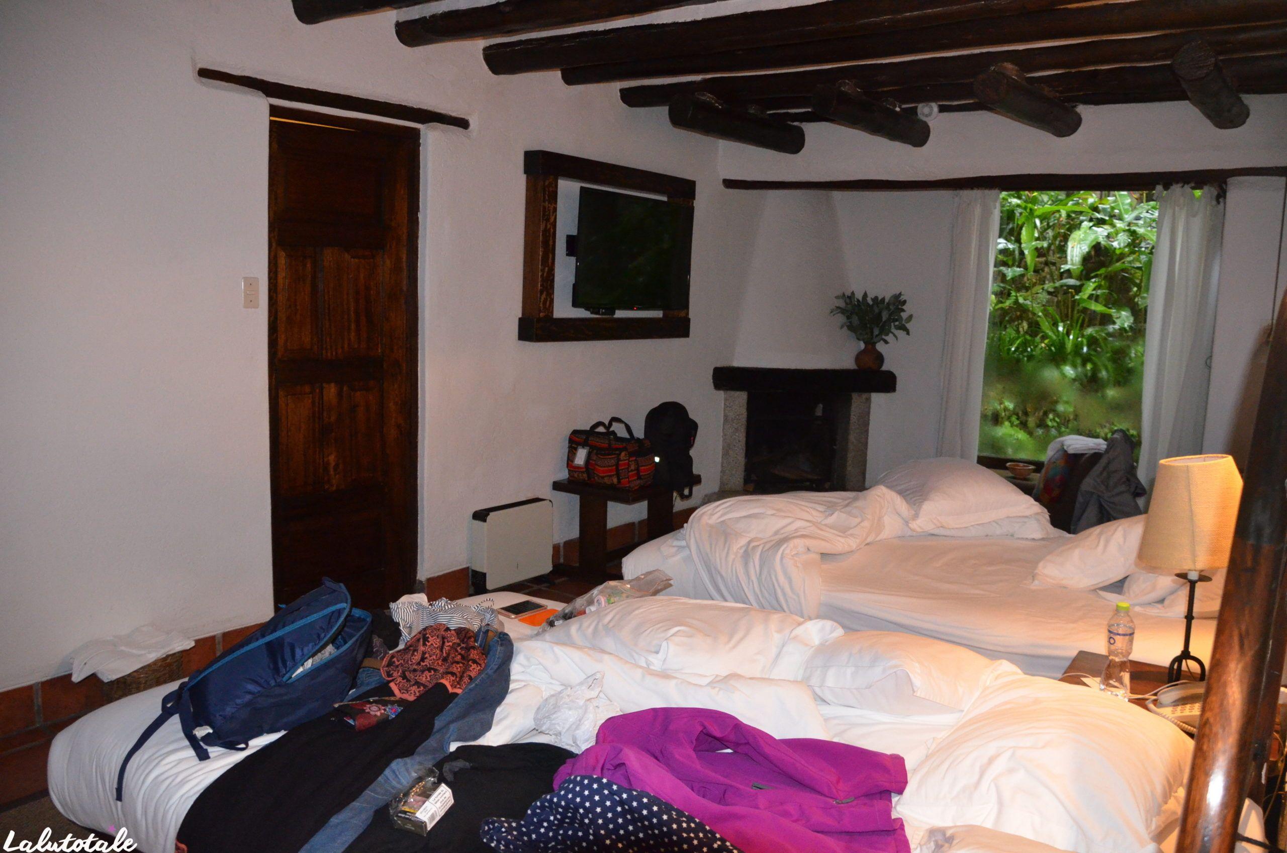 Inka Terra pueblo hôtel chambres