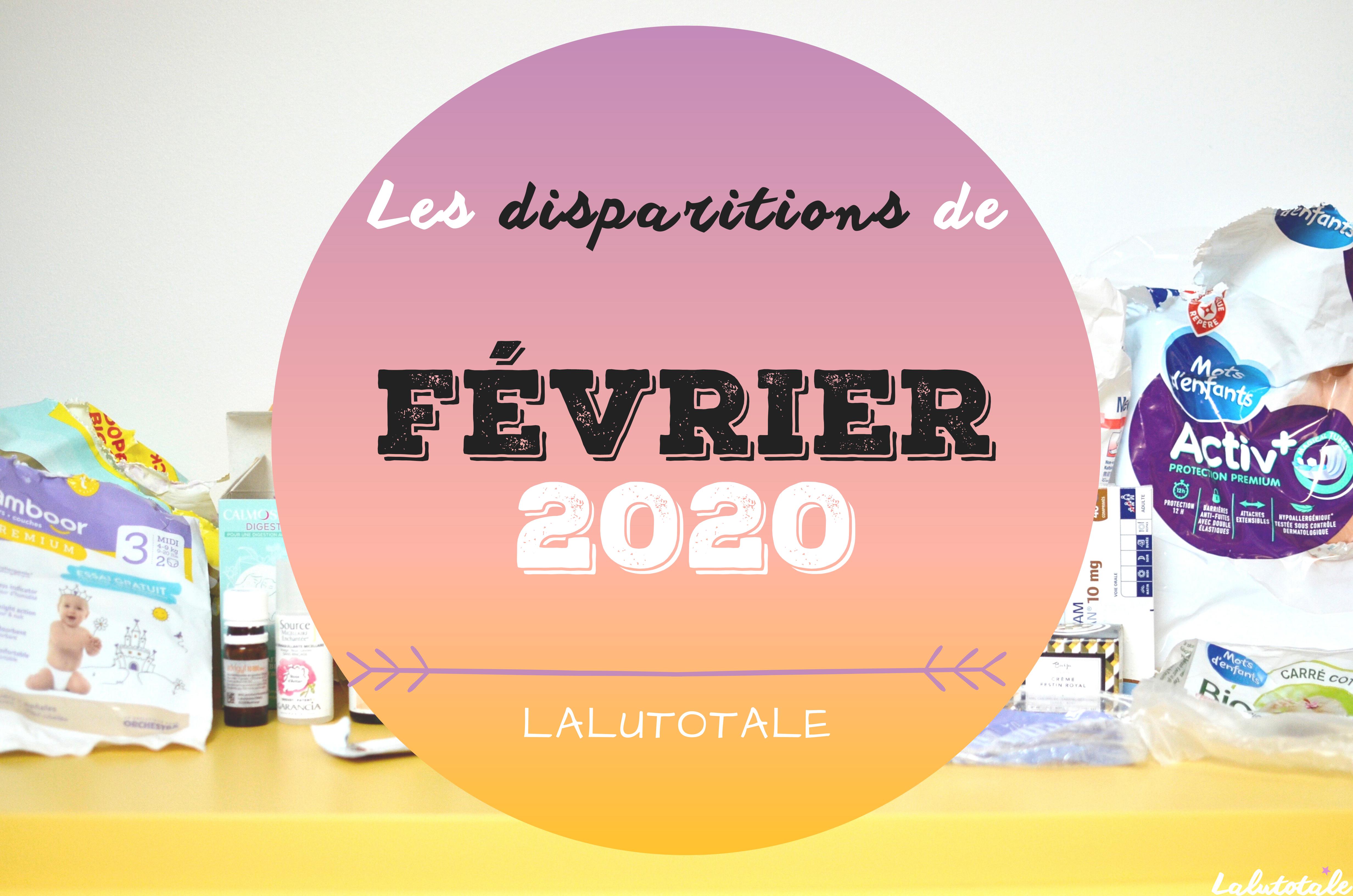 ✞ Les disparitions de Février 2020 ✞