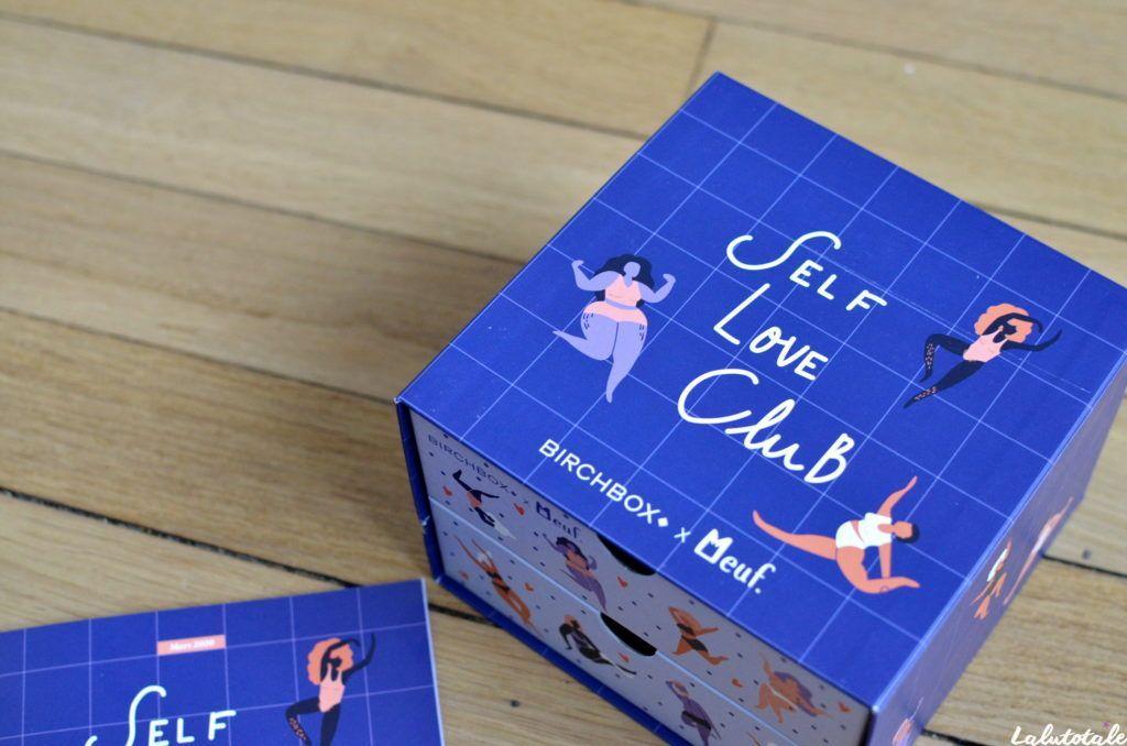 box Birchbox self love club Meuf
