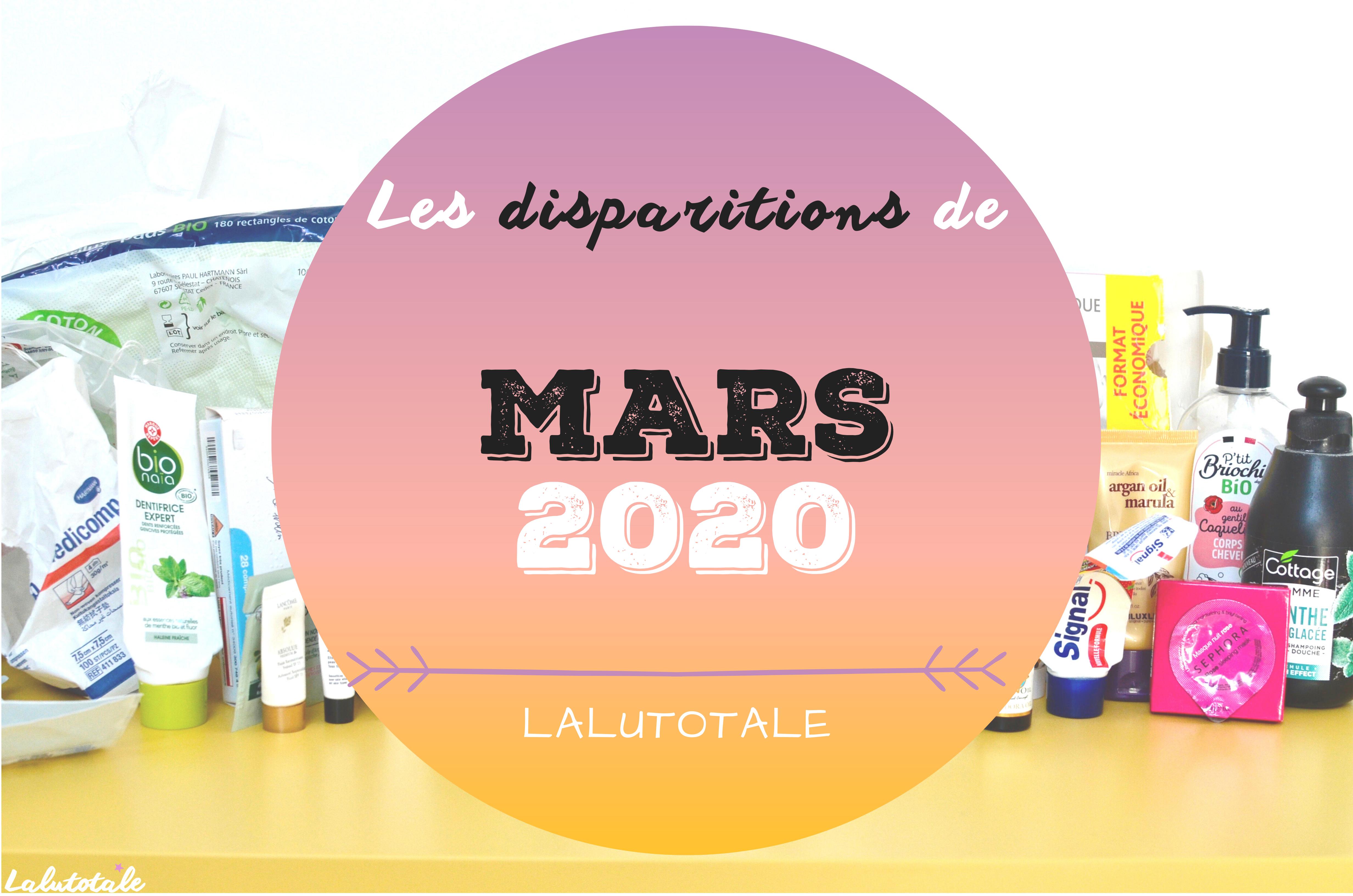 ✞ Les disparitions dans ma salle de bains en Mars 2020 ✞