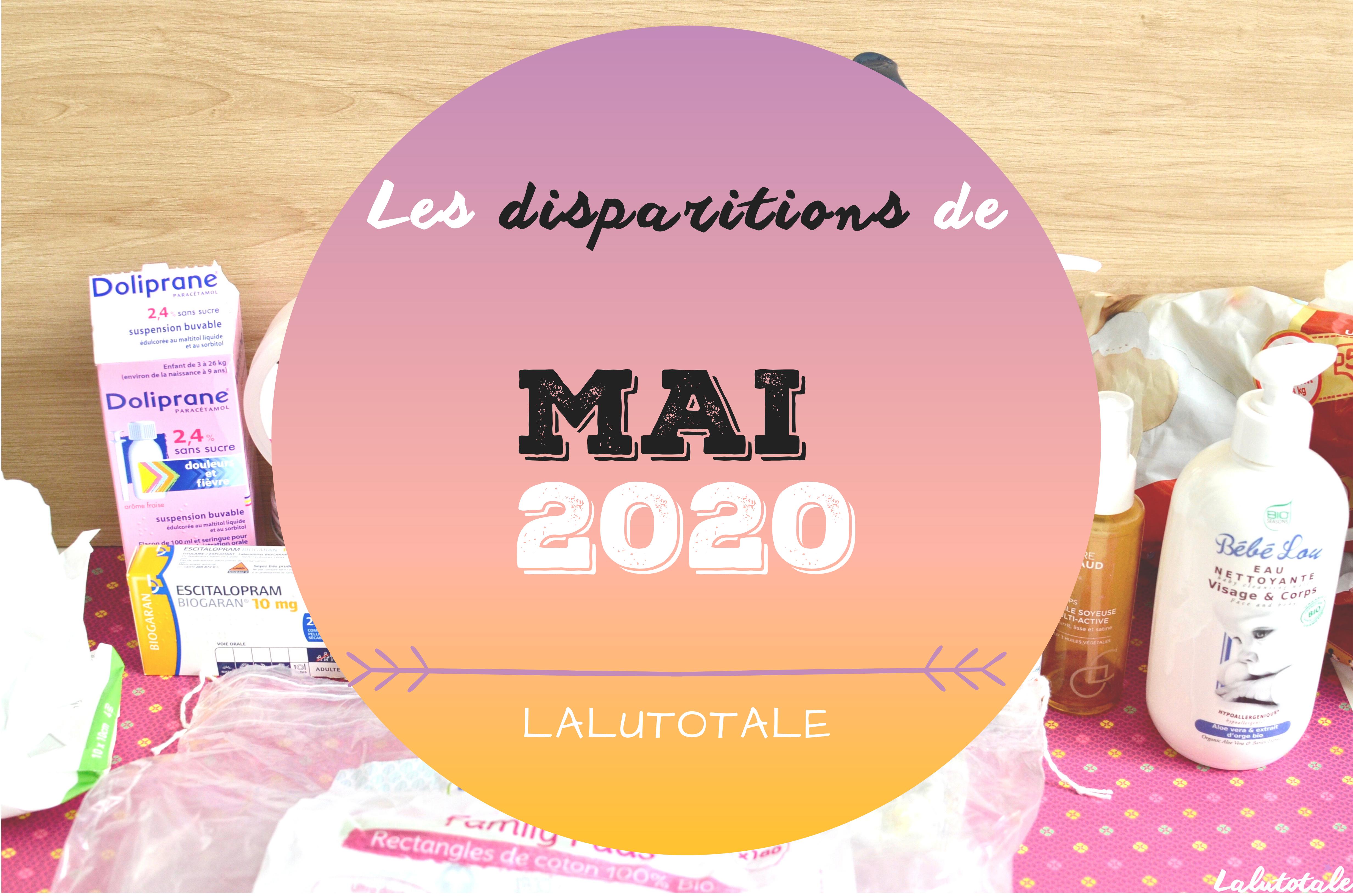 ✞ Les disparitions dans ma salle de bains en Mai 2020 ✞