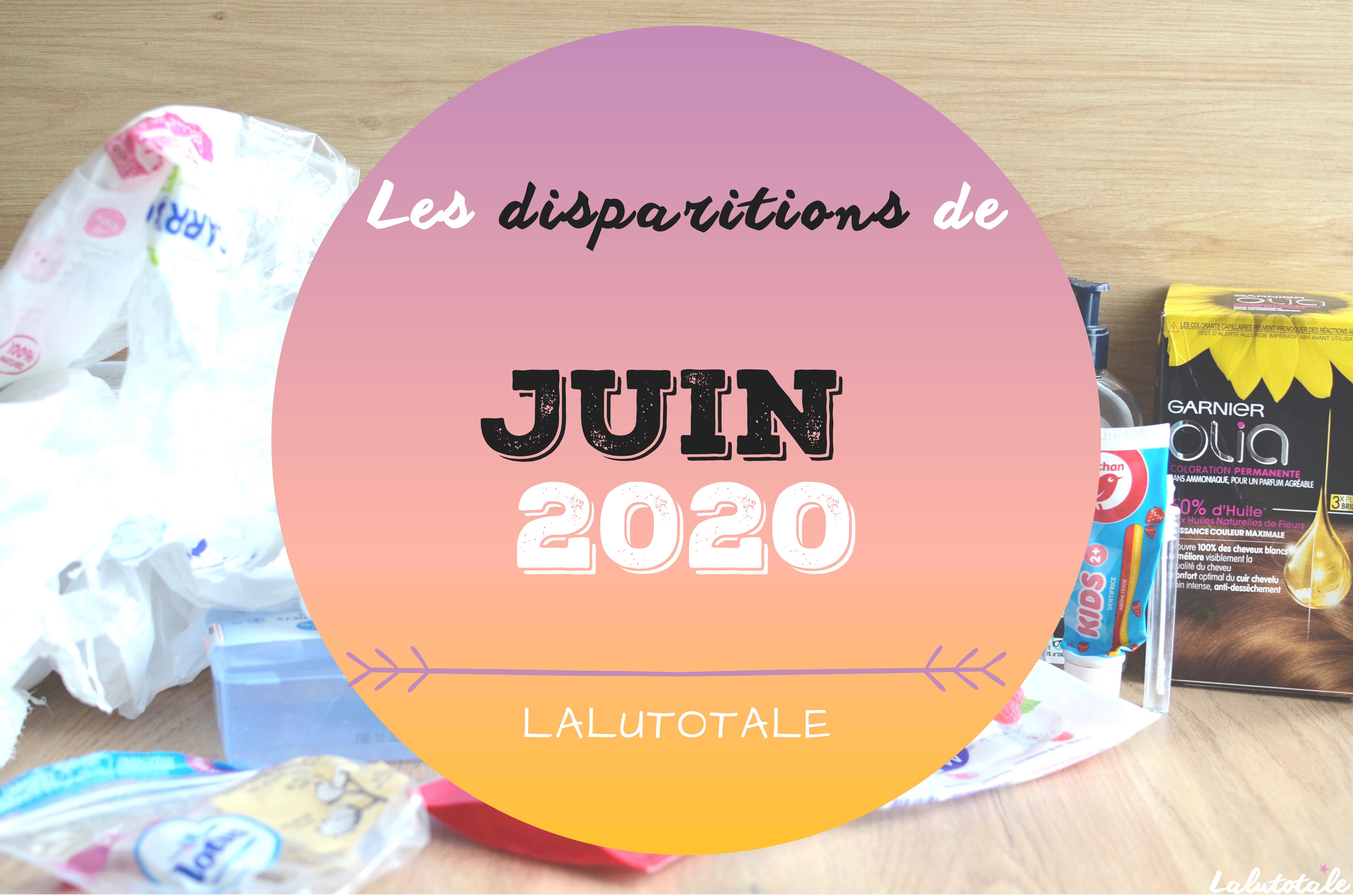 ✞ Les disparitions dans ma salle de bains en Juin 2020 ✞